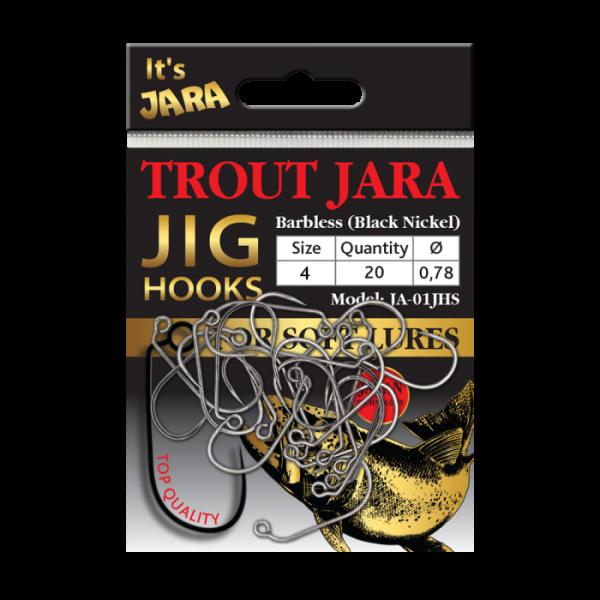 TROUT JARA JIG HOOKS JA-01JHS