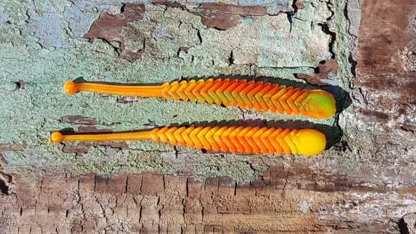 ProBaits Rattle Snake 80 mm - Green Rainbow - Knoblauch