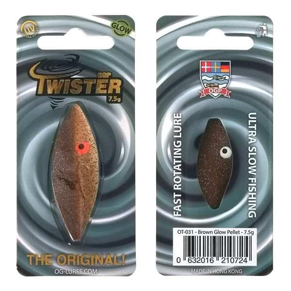 Twister - Brown Glow Pellet 7,5 g