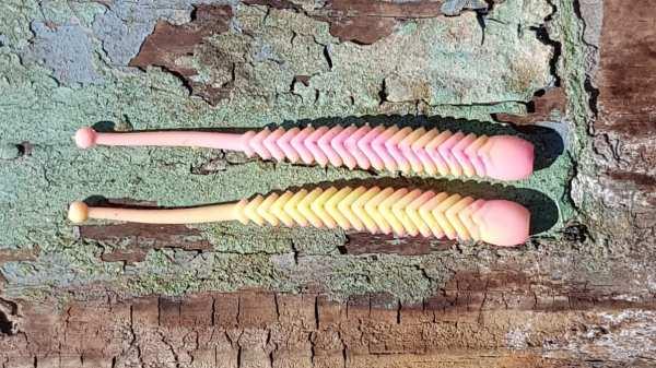 ProBaits Rattle Snake 80 mm - Bubble Gum - Bubble Gum