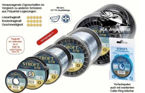 Stroft GTM / 100 m Blaugrau Transparent